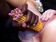 Candy Cotton spektakulärer Schwanz Spielzeug penetration